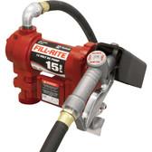 Fill-Rite FR1210G 12V PUMP 15GPM 12' HOSE