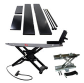 Handy 40100G Lift, Cycle Vise, Side Extensions and Scissor Jack Package