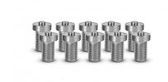 Tiger Tool 10707 10 Pack 3/4″ Bolts W/ 5/8″ Center