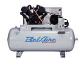 BelAire 6312HE4 10HP, 460V 3Ph, 120Gal Iron Series Piston Compressors