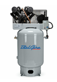 BelAire 6312VE4 10HP, 460V 3PH, 120V Gal Iron Series Piston Compressors