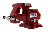 "Wilton 28818 Utility Bench Vise 4-1/2"" Jaw Width, 4"" Jaw Opening, 360° Swivel Base"
