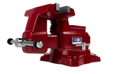 "Wilton 28815 Utility HD Bench Vise 6-1/2"" Jaw Width, 6-1/4"" Jaw Opening, 360° Swivel Base"