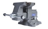 "Wilton 28821 Reversible Bench Vise 5-1/2"" Jaw Width with 360° Swivel Base"