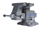 """Wilton 28822 Reversible Bench Vise 6-1/2"""" Jaw Width with 360° Swivel Base"""