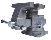 """Wilton 28823 Reversible Bench Vise 8"""" Jaw Width with 360° Swivel Base"""