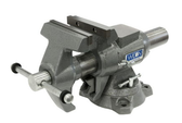 "Wilton 28824 Multi-Purpose Bench Vise, 5-1/2"" Jaw Width"", 360° Rotating Head & Base"