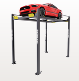 BendPak HD-7PXW 7,000-lb. Capacity / Super-Tall Rise / Four-Post Lift / Vehicle Display Platform
