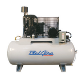 BelAire 3312D 10HP (2x5), 460 3Ph, 120H Gal Two Stage Electric Duplex Compressors