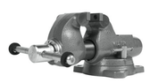 """Wilton 28830 Machinist 3"""" Jaw Round Channel Vise with Swivel Base"""