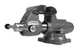"""Wilton 28832 Machinist 5"""" Jaw Round Channel Vise with Swivel Base"""