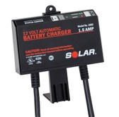 Solar 1002 1.5 Amp 12V Automatic Underhood Charger