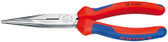 "Knipex 2612200 8""Long Nose Pliers With Cutter Comfort Grip"