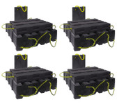 AME 15252 Super Stacker Cribbing Blocks | 4 Kits