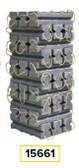 AME 15661 Super Stacker Cribbing Blocks Kit
