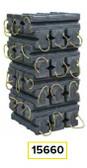 AME 15660 Super Stacker Cribbing Blocks Kit