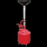 Tuxedo 18G-Drain 18 gallon Portable Oil Drain With Pump and Drain Valve