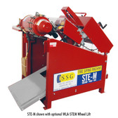 TSI STE-M Tire Siper Machine | Shown with optional Wheel Lift (Sold Separately)