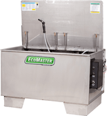 Fountain Industries EcoMaster 150 Heated Agitating Lift Aqueous Parts Washer