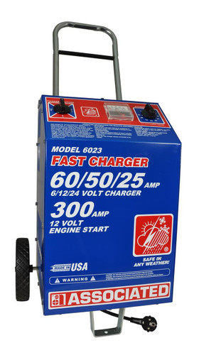 Associated Heavy Duty Commercial Fast Battery Charger (International)
