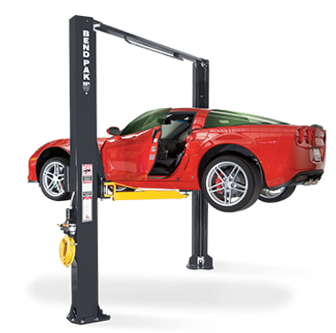 BendPak XPR-10AS Dual-Width, 10,000 LB Capacity, Two-Post Lift, Asymmetric