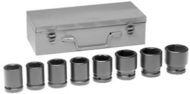Grey Pneumatic 8134M 3/4'' Drive Standard Length Metric Set