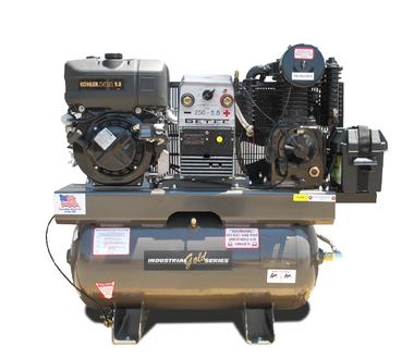 Industrial Gold CI10DEK30-GENWD 16 CFM Diesel Compressor/Generator/Welder