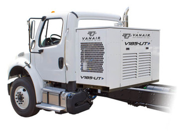 Vanair V210-UT 210 CFM, 150 PSI Utility Mount Air Compressor