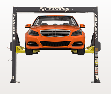 """BendPak GP-7LCS Low-Ceiling Lift, 2-Post Lift / 7,000-lb. Capacity / 106.5"""" Overall Height"""