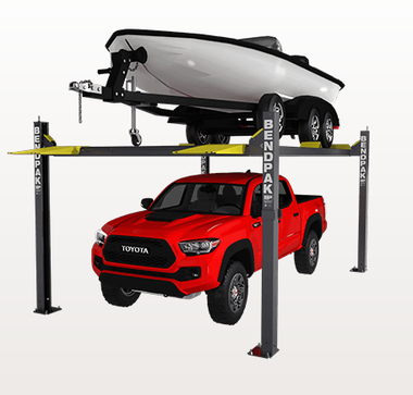 "BendPak HD-7500BLX 7,500-lb. Capacity / Vehicle and Boat Storage Lift / 82"" Rise"