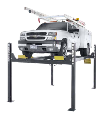 "BendPack HD14T 14,000-lb. Capacity / Four-Post Lift / Tall Lift / 82"" Rise"