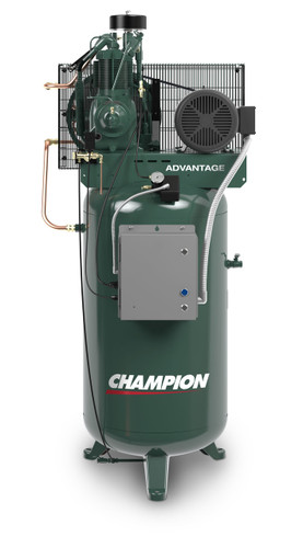 Champion VR7F-8ADV 7 1/2 HP Vertical Tank Air Compressor