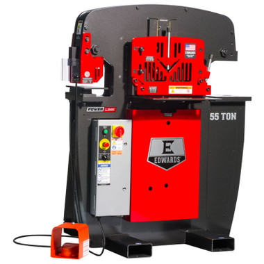 Edwards IW55 55 Ton Ironworker