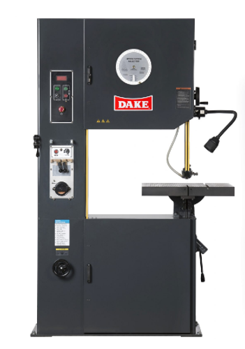 Dake V-26E Power Feed Vertical Bandsaw