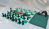 Tournament Chess Master Plastic Chess & Checkers Set, Chess Board, & Bonus Carry Bag & Two Extra Free Queens