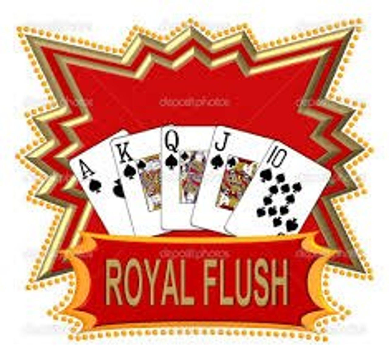 Poker Chip Set Royal Flush 500pc 11.5g with Case & FREE OFFER