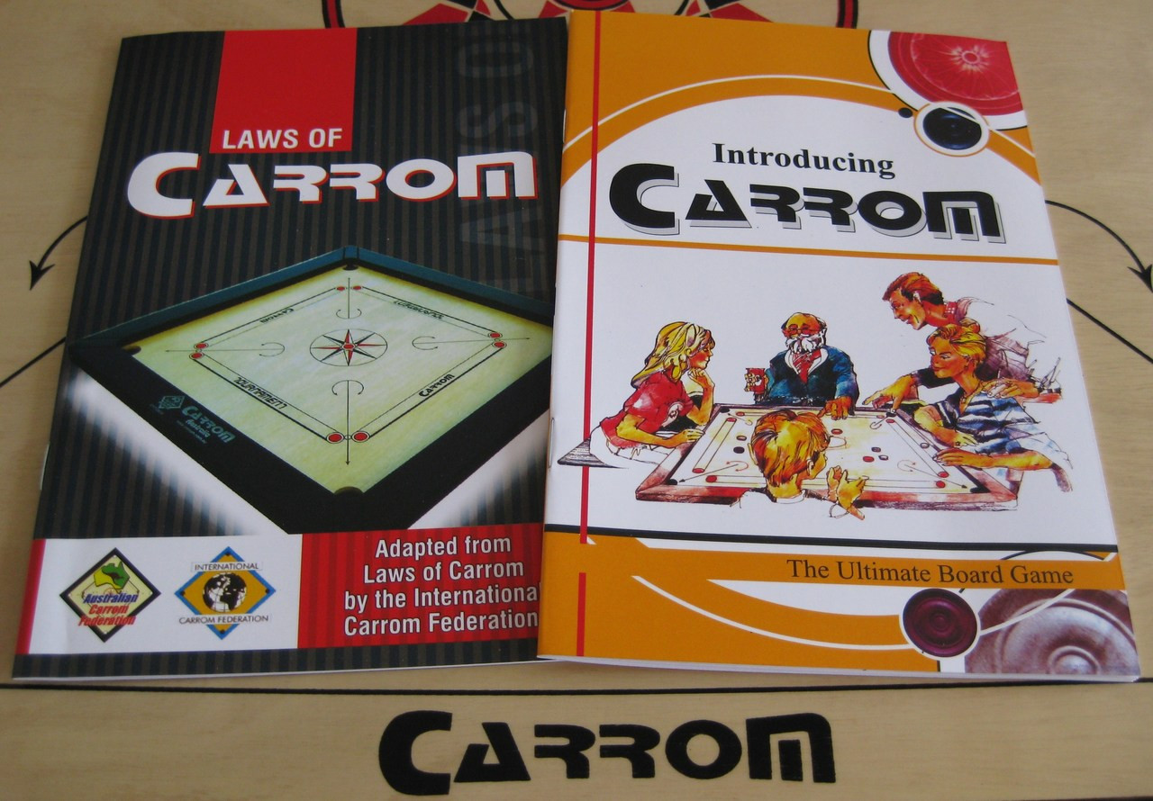 Introducing Carrom & Laws Booklets