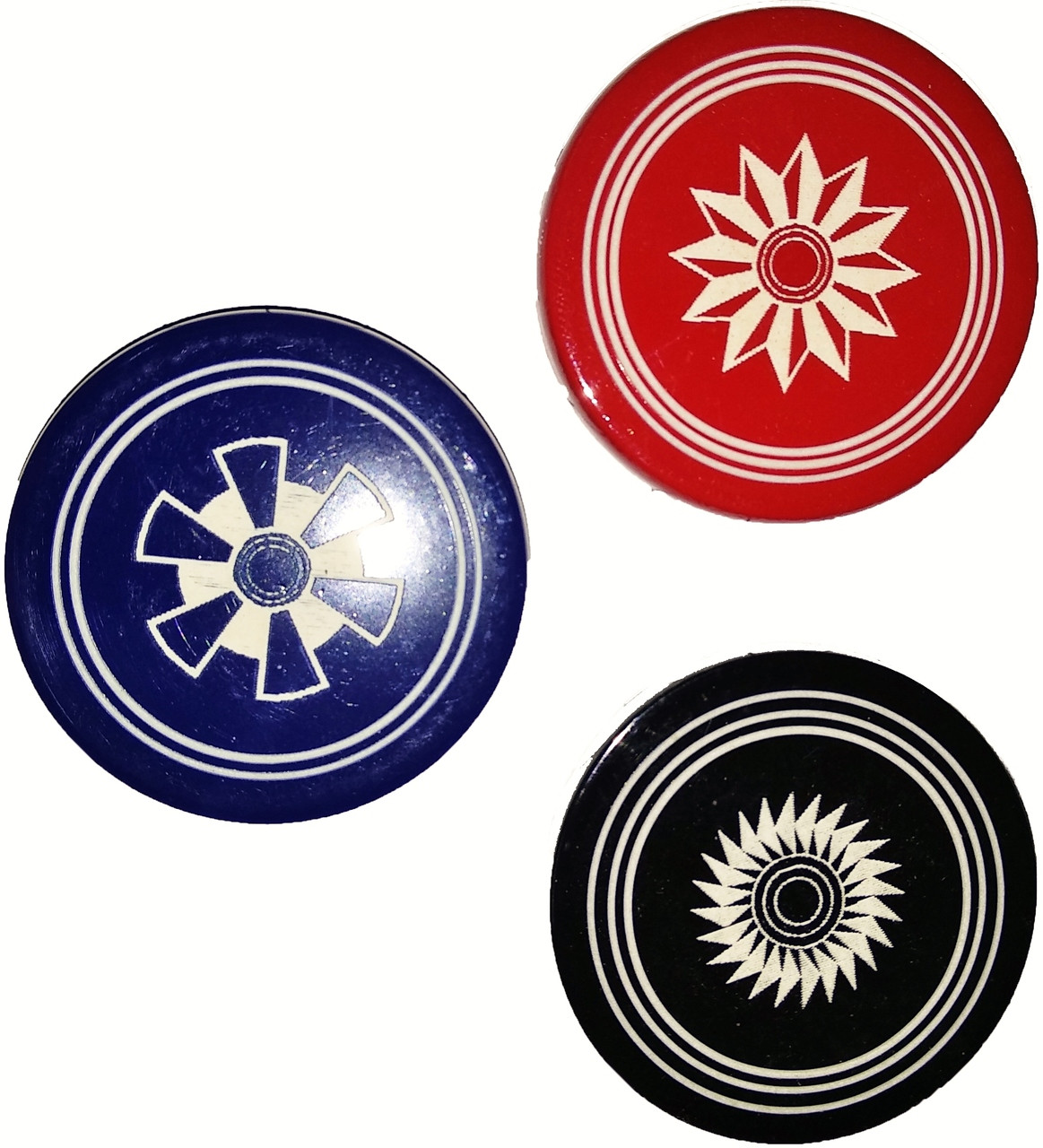 Championship Carrom Strikers (Set of 2) Regulation Approved