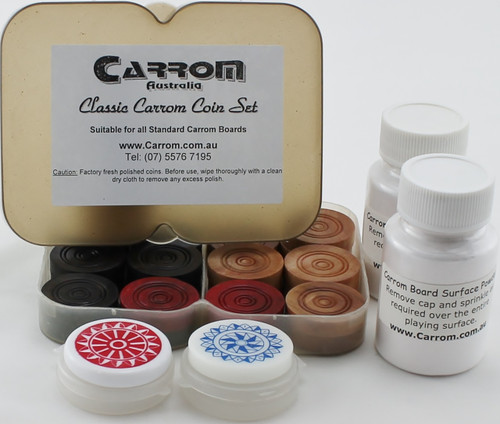 Carrom Classic Playing Accessories Package Set