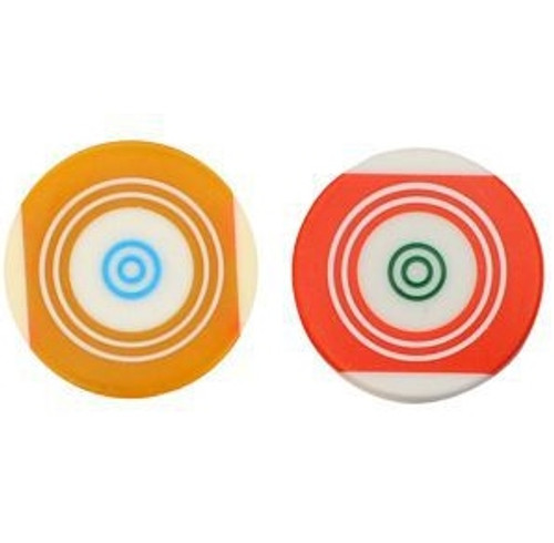 Championship Carrom Ball Striker (Set of Two) Regulation Approved