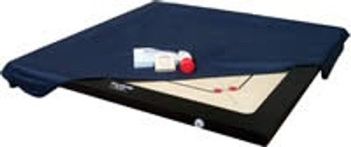 Carrom Board Cover with storage pocket for the playing accessories