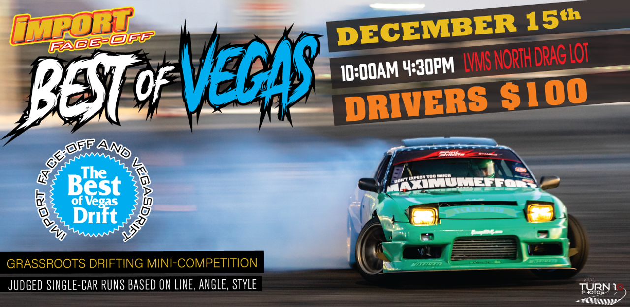 Import Face-Off -  Best of Vegas December 15th 2019