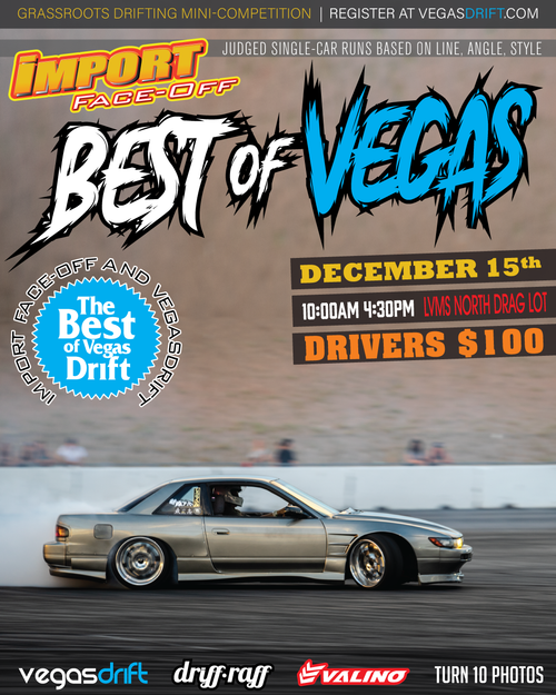 Best Of Vegasdrift @ Import Face-Off 12/15/2019 - Las Vegas Motor Speedway