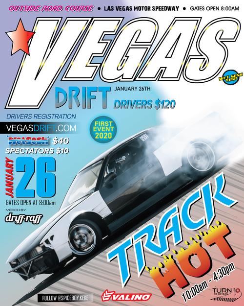 Vegasdrift Grassroots Drift Event - Las Vegas Motor Speedway - Outside Road Course - Sunday, January 26th 2020 - First Event of 2020!!!