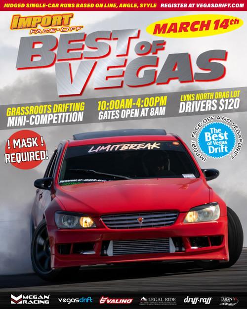 """Import Face-Off /w Vegasdrift """"Best of Vegas"""" Sunday - March 14th 2021"""