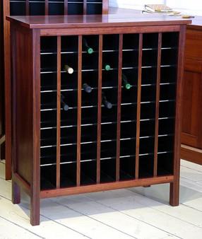 Wine Cabinet 7x8 Jarrah