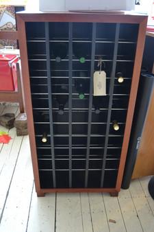 wine cabinet, 5x11, redgum, barbi