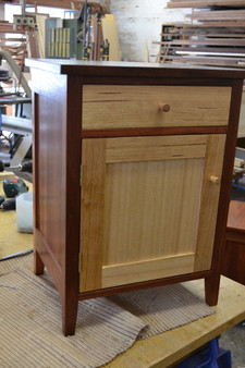 Bedside table with cupboard and drawer