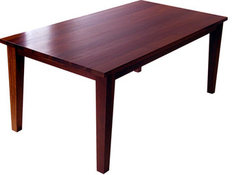 Jarrah dining table