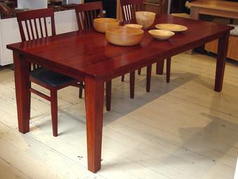 Redgum table
